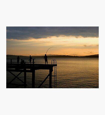 Evening Catch Photographic Print