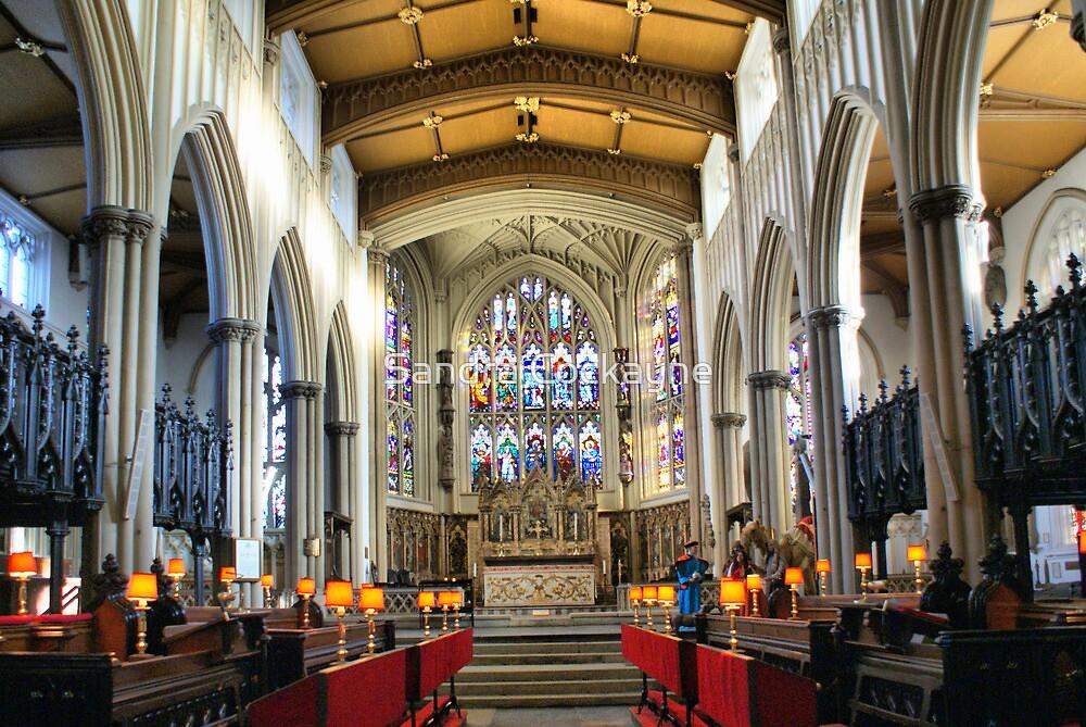 St Peter's ~ Leeds Parish Church Interior ~ by Sandra Cockayne