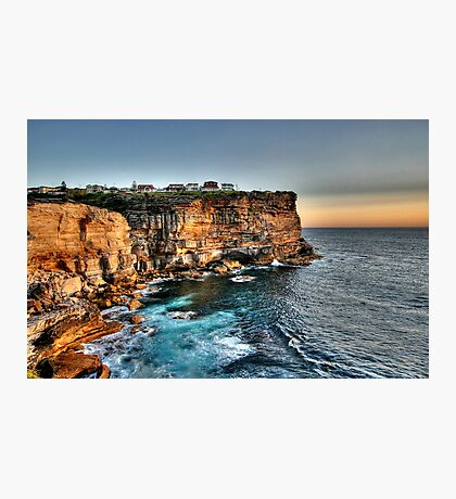 Cliffs of Paradise Photographic Print
