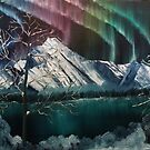 Northern Lights in Alaska by towncrier