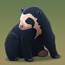 Spectacled Bear by Tami Wicinas