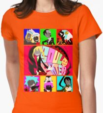 Let's Get Neon (Soul Eater) Womens Fitted T-Shirt