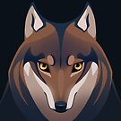 Mexican Wolf by Tami Wicinas