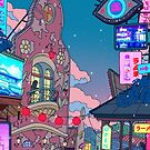 Spirited Away & Chill - Night by Ronald Kuang