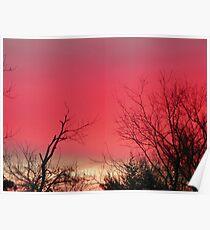 Brilliant Sunrise,  Elkins, Arkansas Poster