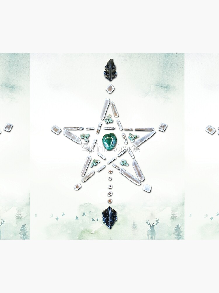 Malachite Crystal Grid - Natures Cycles by SpiritStone