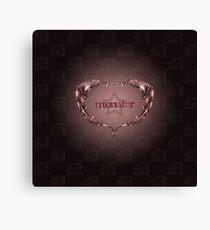 MonStar - Heart Canvas Print