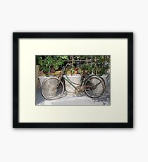 Want a ride? Framed Print