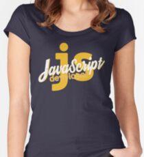 Javascript Developer - JS Women's Fitted Scoop T-Shirt
