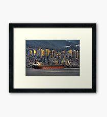 Cargo Cruiser Framed Print