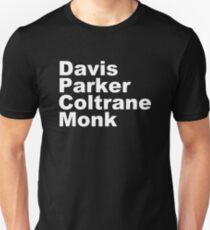 MILES DAVIS MONK VINYL PARKER T-Shirt