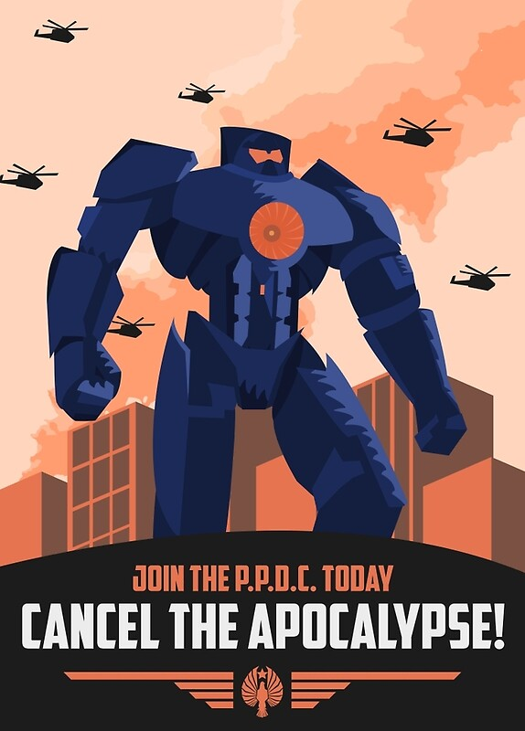 """Pan Pacific Defense Corps (Pacific Rim)"" Posters by ..."