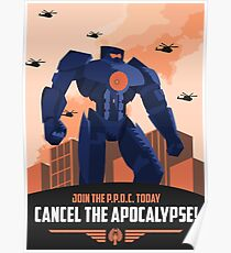 Pan Pacific Defense Corps (Pacific Rim) Poster