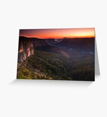 Grose Valley Greeting Card