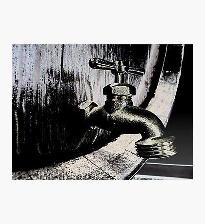 Barrel Tap  Photographic Print