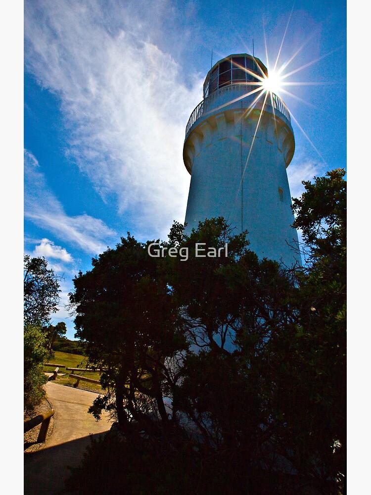 Cape Schanck Lighthouse Starburst by GregEarl