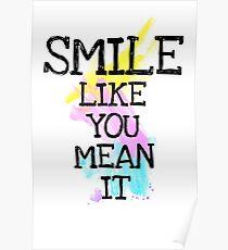 smile like... Poster