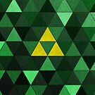 Triforce Quest (Green) by Digital Phoenix Design