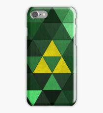 Triforce Quest (Green) iPhone Case/Skin