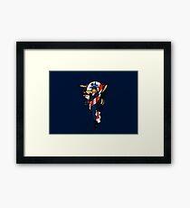 SJ Inspired Coast Guard Pinup No 2 Framed Print
