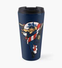 SJ Inspired Coast Guard Pinup No 2 Travel Mug