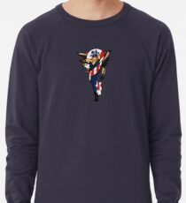 SJ Inspired Coast Guard Pinup No 2 Lightweight Sweatshirt