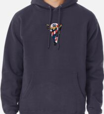 SJ Inspired Coast Guard Pinup No 2 Pullover Hoodie
