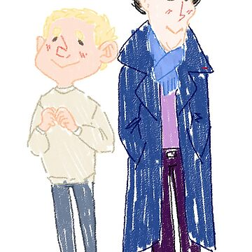 Sherlock and John: Cuties by javvn