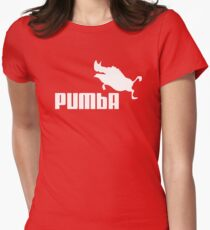 PUMBA  Womens Fitted T-Shirt