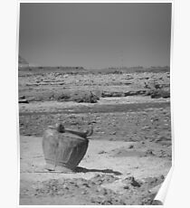 Old Vase and Dead Sea Poster
