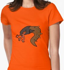 Baby Graboid Womens Fitted T-Shirt