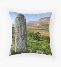 standing stone Throw Pillow
