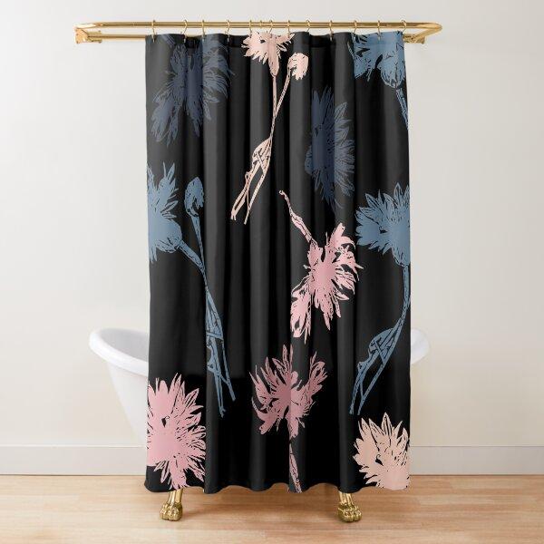 Kwiatki Shower Curtain