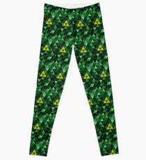 Triforce Quest (Green) Leggings