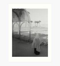 Woman and Dead Sea Art Print