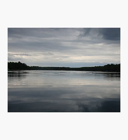 Gray Skies Photographic Print