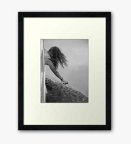 Touching Grace Framed Print