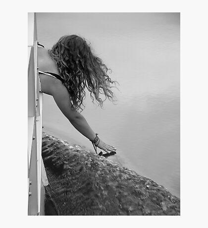 Touching Grace Photographic Print