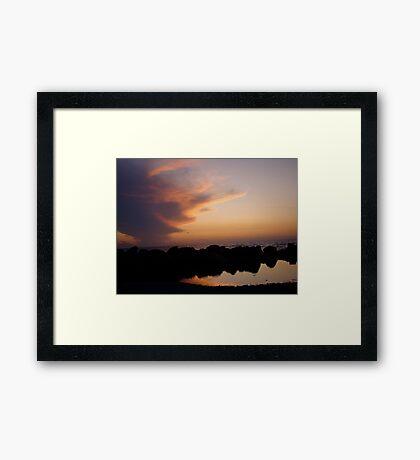 Ocean of Reflections Framed Print