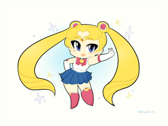 Sailor Moon by purrling