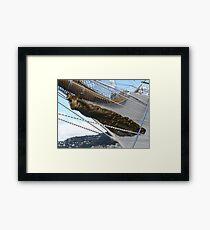 Libertad - Argentine Navy training ship (2) Framed Print