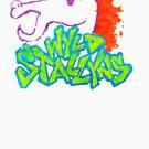 Wyld Stallyns Graffiti Style by Annika Leistikow