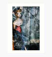 A French Woman Art Print