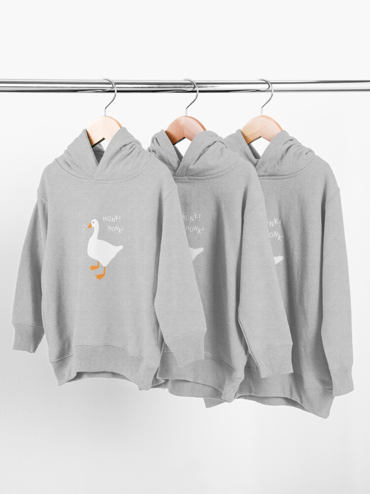 Alternate view of Honk Honk Goose Toddler Pullover Hoodie