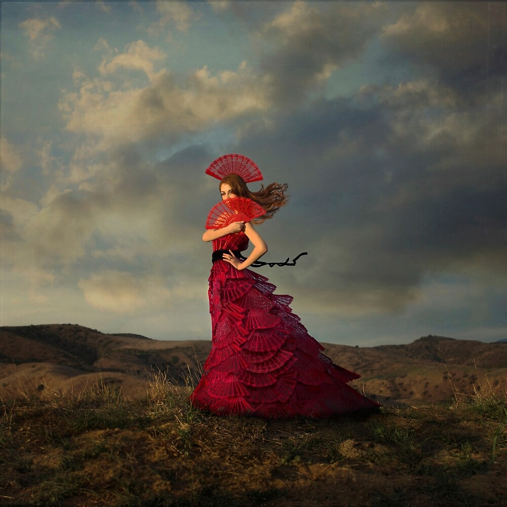 Lady in Red by Trini Schultz