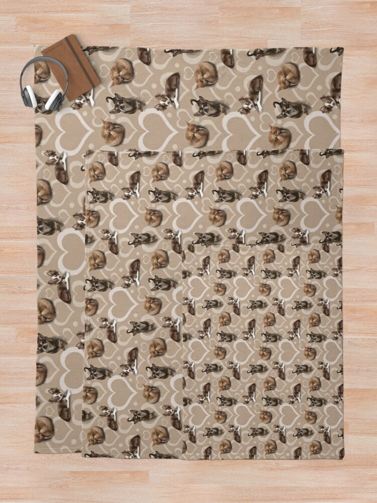 Alternate view of The Chihuahua Throw Blanket