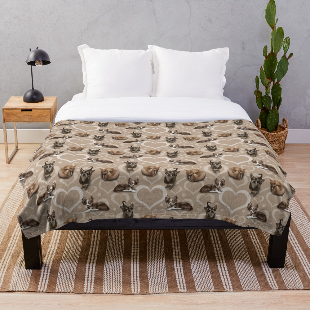 The Chihuahua Throw Blanket
