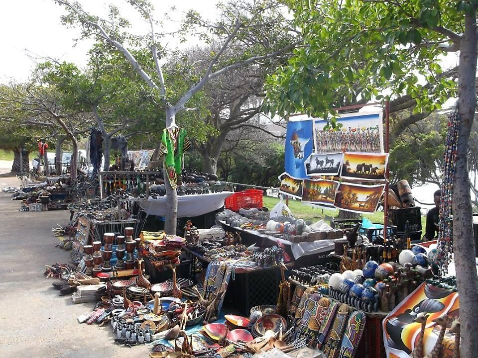 Street Vendors, near Cape Town, South Africa by sbrosszell