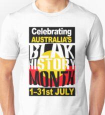 Australia's BLAK HISTORY MONTH [-0-] T-Shirt