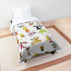 Cartoon Characters Comforter